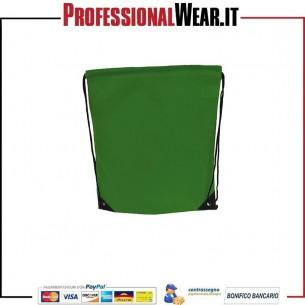 Sacca Zaino 34x43 cm. 100% Poliestere 210 gr / m2