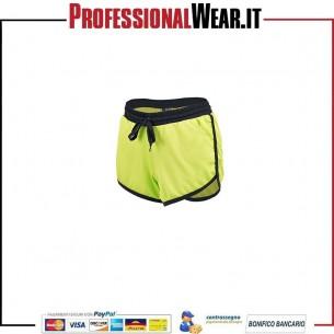 Pelle secca Shorts Lady Tasche 100% Pol. 140 gr / m2