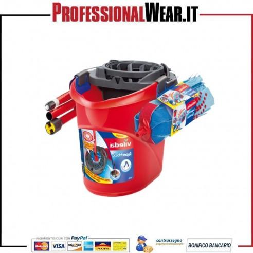Secchio con strizzatore con manico - ricambio Vileda 1|€18.000002