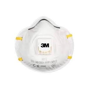 MASCHERINA 3M 8812 con valvola / FFP1 (confezione 10 pz)