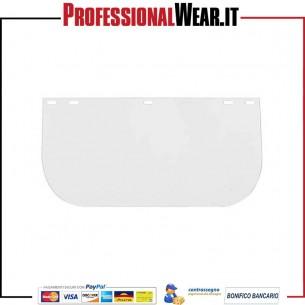 VISIERA da Lavoro per SEMICALOTTE 395x230x1 trasparente